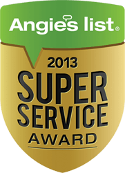Angie's List - Super Service Award 2013
